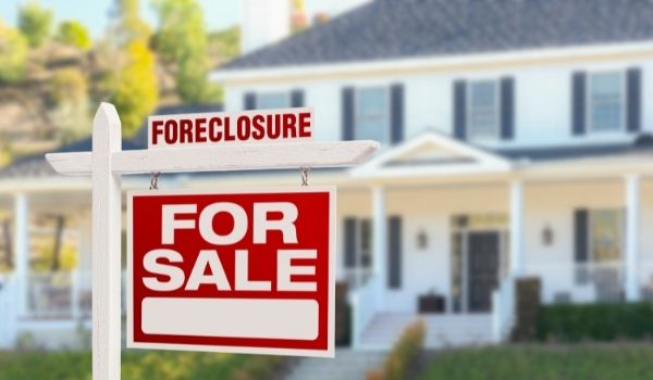 foreclosure on a property