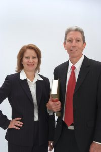 Attorneys and Partners, Kenneth Rhoden and Barbara Helm Peters